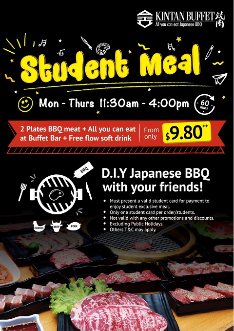 Student Meal Promotion