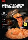 All-You-Can-Eat Salmon Sashimi & Sushi